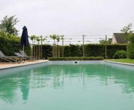 Ferienhaus mit Pool in West-Vlaanderen in Hertsberge (Belgien)