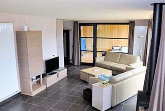 Vakantiehuis in Hertsberges, West-Vlaanderen - Woonkamer
