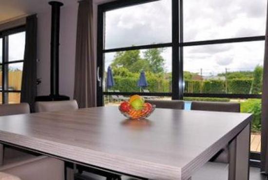 Vakantiehuis in Hertsberges, West-Vlaanderen - Uitzicht vanuit de keuken