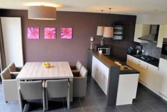 Vakantiehuis in Hertsberges, West-Vlaanderen - Eethoek en keuken
