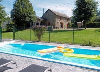 Vakantiehuis met zwembad in Ardennen in Houffalize (België)