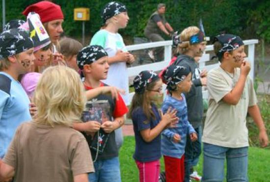 Vakantiehuis in Dorum-Neufeld, Niedersachsen - Piratenfeest voor de kinderen