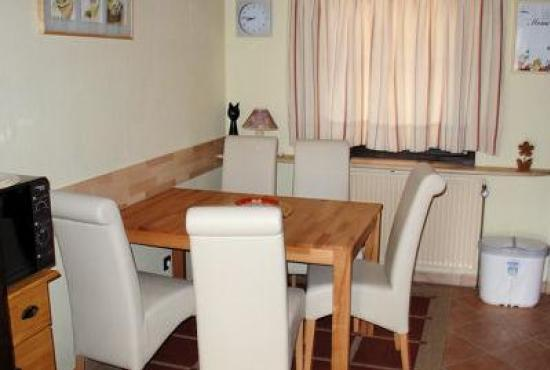 Holiday house in Ronshausen, Hessen - Example photo of the dining area