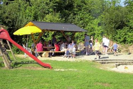 Holiday house in Ronshausen, Hessen - Playground