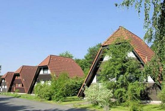 Vakantiehuis in Ronshausen, Hessen - Het park