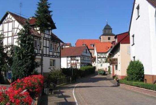 Vakantiehuis in Ronshausen, Hessen - Omgeving