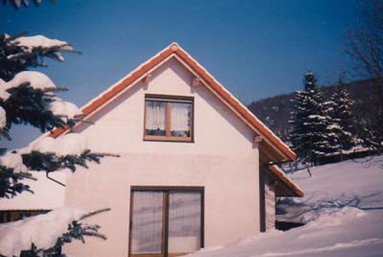 Ferienhaus in  Floh-Seligenthal, Thuringen - Das Haus im Winter