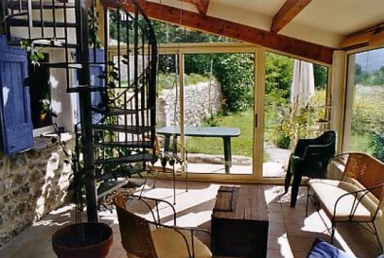 Location de vacances en Sisteron, Provence-Côte d'Azur - Véranda