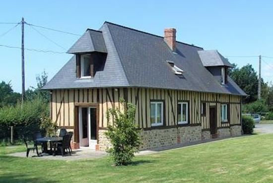 Vakantiehuis in Ablon, Normandië - Het huis