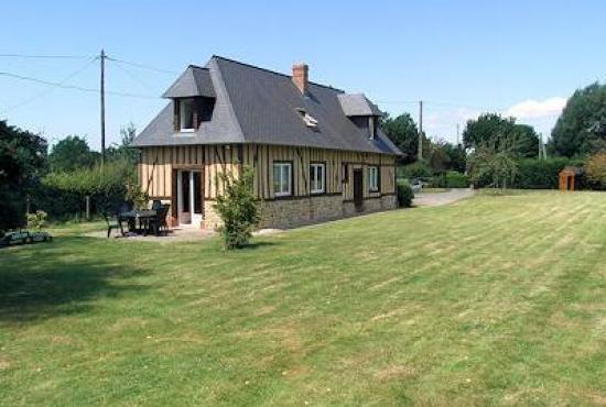 Vakantiehuis in Ablon, Normandië - Huis en tuin