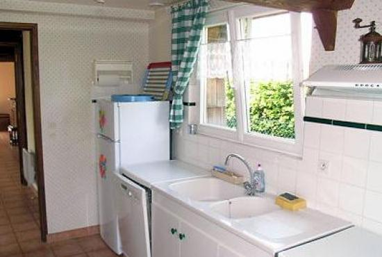 Holiday house in Ablon, Normandy - Kitchen