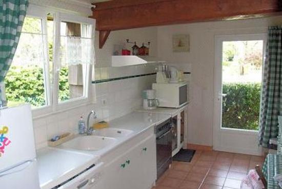 Vakantiehuis in Ablon, Normandië - Keuken