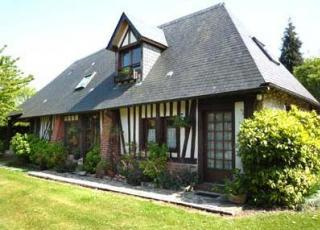 Vakantiehuis in Pennedepie aan zee, in Normandië.