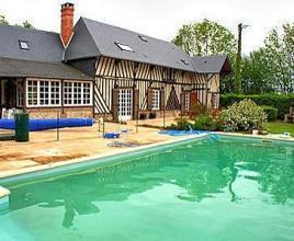 Vakantiehuis met zwembad in Normandië in Saint-André-d'Hébertot (Frankrijk)