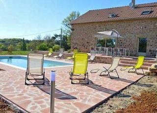 Vakantiehuis in Meyssac met zwembad, in Dordogne-Limousin