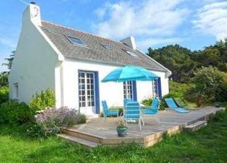 Vakantiehuis in Pleumeur-Bodou aan zee, in Bretagne.