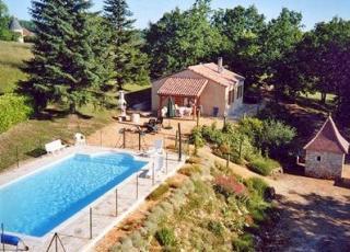 Vakantiehuis met zwembad in Dordogne-Limousin in Campagnac-les-Quercy (Frankrijk)