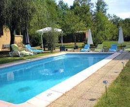 Holiday house with pool in Dordogne-Limousin in Marsaneix (France)