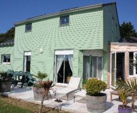 Vakantiehuis in Lanvéoc aan zee, in Bretagne.