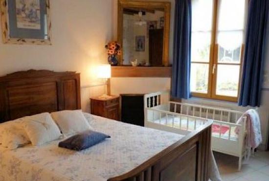 Ferienhaus in  Luzillé, Centre - Schlafzimmer