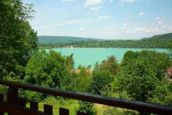 Location de vacances en Doucier, Franche-Comté - Vue depuis le chalet