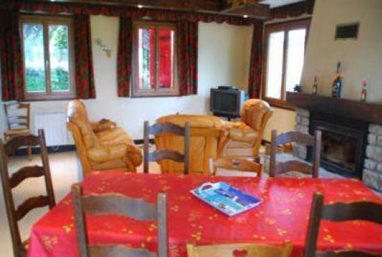 Ferienhaus in  Doucier, Franche-Comté - Wohnzimmer