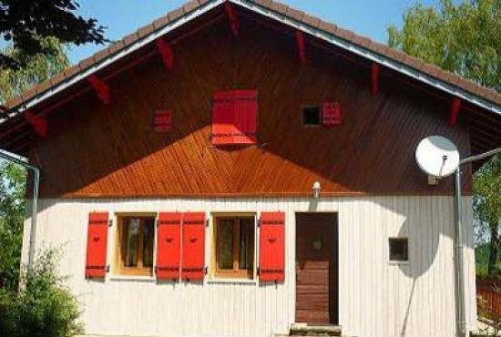 Location de vacances en Doucier, Franche-Comté - Le chalet