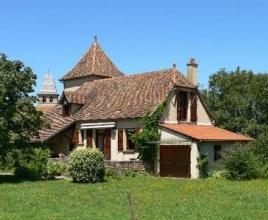 Holiday house in Loubressac, in Dordogne-Limousin.