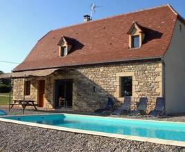 Ferienhaus mit Pool in Dordogne-Limousin in Quissac (Frankreich)