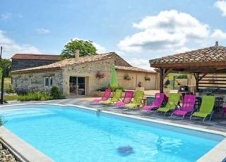 Vakantiehuis in Paulhiac met zwembad, in Aquitaine.