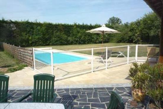 Location de vacances en Longué, Pays de la Loire - Piscine