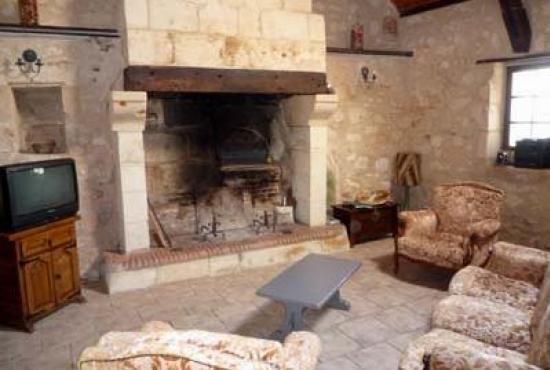 Location de vacances en Longué, Pays de la Loire - Coin salon