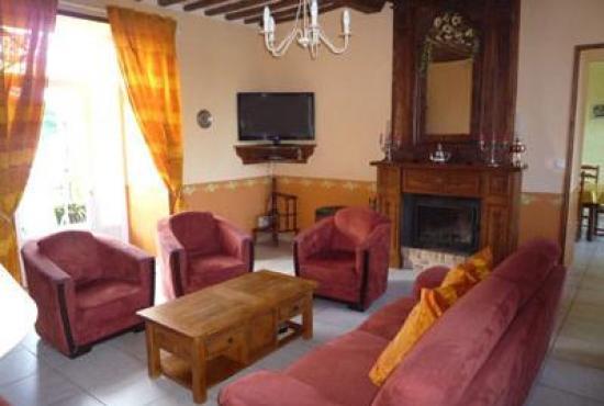 Casa vacanza in Périers, Normandie - Soggiorno