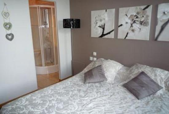 Holiday house in Périers, Normandy - Bedroom