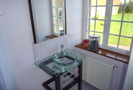 Holiday house in Périers, Normandy - Bathroom