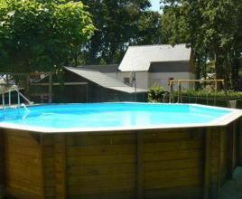 Vakantiehuis met zwembad in Bretagne in Pont-Mahé (Frankrijk)