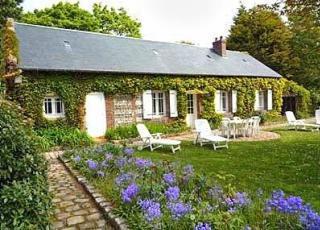 Vakantiehuis in Saint-Jouin-Bruneval aan zee, in Normandië.
