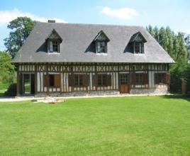 Holiday house in Tocqueville-en-Caux, in Normandy.