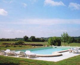 Holiday house with pool in Dordogne-Limousin in Lacour-de-Visa (France)