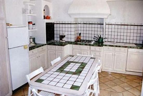Ferienhaus in  Ramatuelle, Provence-Côte d'Azur - Küche