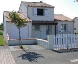 Holiday house in Saint-Vincent-sur-Jard near the sea, in Pays de la Loire.