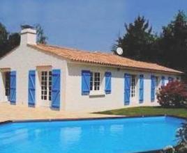 Vakantiehuis in Notre-Dame-de-Riez met zwembad, in Loire.