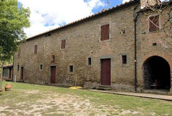 Holiday house in Ossaia, Tuscany - The house
