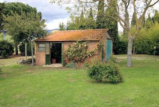 Holiday house in Ossaia, Tuscany - Garden