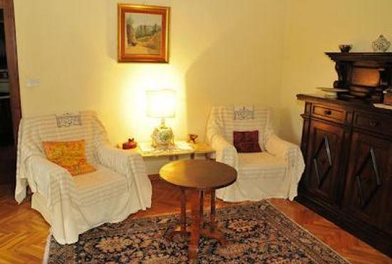Holiday house in Ossaia, Tuscany - Sitting area