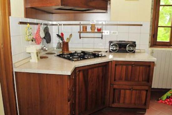 Holiday house in Ossaia, Tuscany - Kitchen area