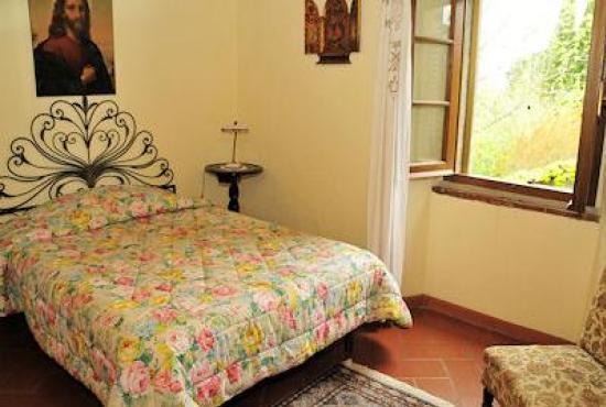 Holiday house in Ossaia, Tuscany - Bedroom