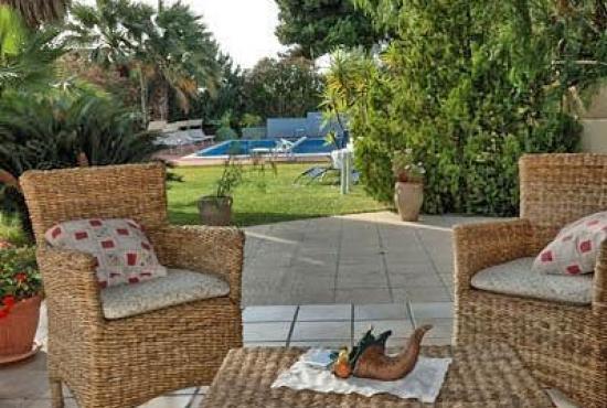 Location de vacances en Trappeto, Sicile - Terrasse