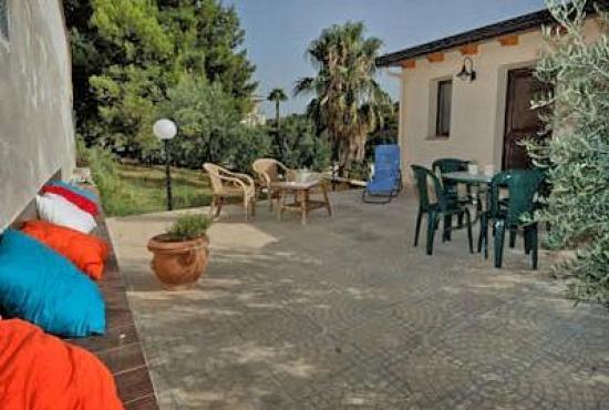 Location de vacances en Trappeto, Sicile - Terrasse à côté