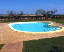 Vakantiehuis in Paciano met zwembad, in Umbrië.